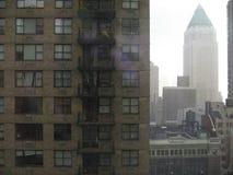 Hirises de Manhattan Imágenes de archivo libres de regalías