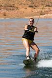Hirl Wakeboarder at Lake Powell Stock Image