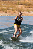 Hirl Wakeboarder at Lake Powell Stock Photography