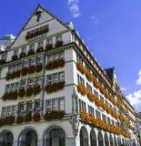 Hirmer mody Męski sklep w Monachium, Niemcy Zdjęcie Royalty Free