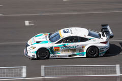 Hiroki Yoshimoto of LM corsa in Super GT Final Race 66 Laps at 2 Royalty Free Stock Image
