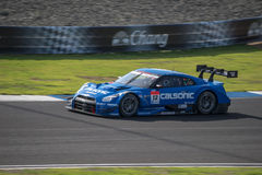 Hironobu Yasuda drużyna IMPUL w GT500 Qualiflying kategorii przy 2 Obrazy Royalty Free