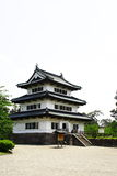 Hirosaki Castle. Is a hirayama-style Japanese castle constructed in 1611 Royalty Free Stock Photo