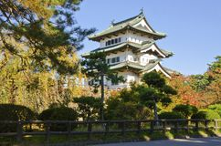 Hirosaki Castle. Stock Photo