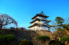 Hirosaki Castle Tower Stock Photo