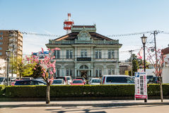 Hirosaki city Royalty Free Stock Photos
