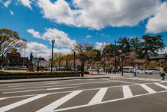 Hirosaki city Royalty Free Stock Image