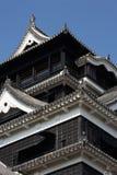 Hiroschima-Schloss Stockfotografie