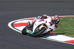 Hiroshi Aoyama - Honda CBR1000RR Fotografia Stock