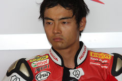Hiroshi Aoyama - Honda CBR1000RR royalty free stock photography