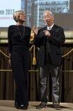 Hiroshi Sugimoto, berömd fotograf och konstnär, i Florence, Italien Fotografering för Bildbyråer