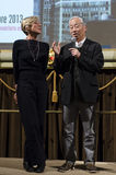 Hiroshi Sugimoto, sławny fotograf i artysta w Florencja, Włochy Obraz Stock