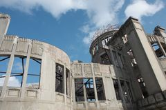 Hiroshima Atomic Bomb Dome Stock Photos