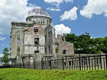 Hiroshima atomic bomb dome Stock Image