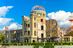 Hiroshima Atomic Bomb Dome,  Japan. Stock Photography