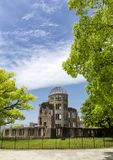 Hiroshima atomic bomb dome park in Japan, Asia. Hiroshima atomic bomb dome park in Japan stock image