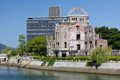Hiroshima - Atomic Bomb Dome Stock Image