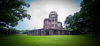 Hiroshima Bomb Dome in Japan. Stock Images