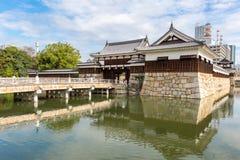 Hiroshima castle Royalty Free Stock Images