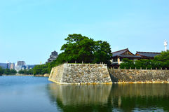Hiroshima Castle in Hiroshima, Japan Stock Photo
