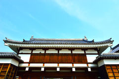 Hiroshima Castle in Hiroshima, Japan Royalty Free Stock Photo