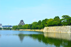 Hiroshima Castle in Hiroshima, Japan Stock Photos