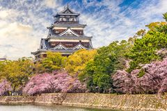 Hiroshima Castle, Japan Royalty Free Stock Photography
