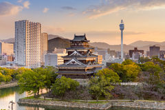 Hiroshima Castle Japan Royalty Free Stock Images