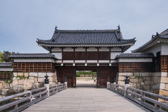 Hiroshima castle Stock Photos