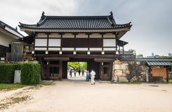 Hiroshima castle Stock Image