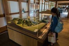 Hiroshima castle Royalty Free Stock Image