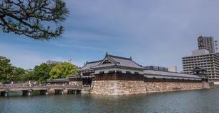 Hiroshima castle Royalty Free Stock Photos