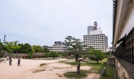 Hiroshima castle Stock Photography