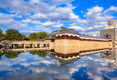Hiroshima castle, Japan Stock Image