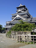 Hiroshima Castle main tower stock photos