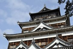 Hiroshima Castle Royalty Free Stock Photography
