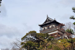 Hiroshima Castle. A view of Hiroshima castle royalty free stock images