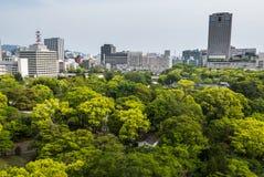 Hiroshima cityscape Royalty Free Stock Photography