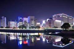 Hiroshima Cityscape Stock Images
