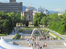 Hiroshima-Denkmal Lizenzfreies Stockfoto