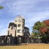 Hiroshima dome Stock Images