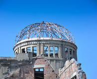 Hiroshima A-Dome Memorial Royalty Free Stock Photo