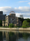 Hiroshima Dome and a river Royalty Free Stock Photo