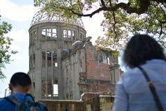 Hiroshima-Friedensdenkmal Lizenzfreie Stockbilder