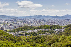 Hiroshima and the Inland Sea, Japan Stock Images