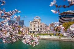 Hiroshima Japón Sitio del patrimonio mundial de la UNESCO imágenes de archivo libres de regalías