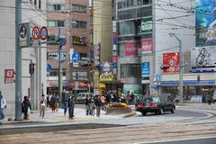Hiroshima, Japan Royalty Free Stock Images