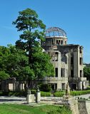 Hiroshima japan atomic dome Stock Images