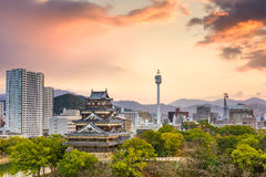 Hiroshima Japan Cityscape Royalty Free Stock Photo