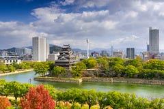 Hiroshima, Japan Skyline Royalty Free Stock Images